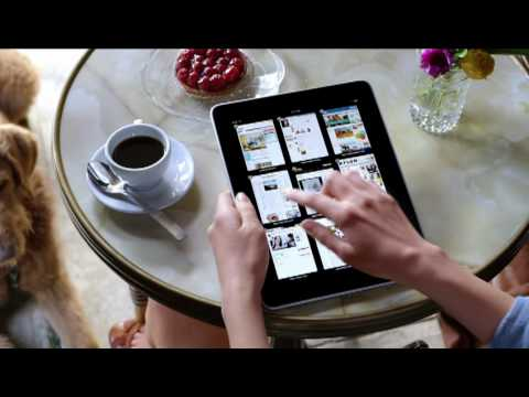 Apple Commercial for Apple iPad (2010) (Television Commercial)