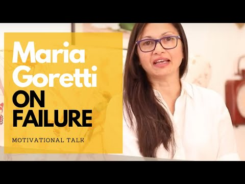 Let neither Failure nor success push you in any direction | Maria Goretti Warsi