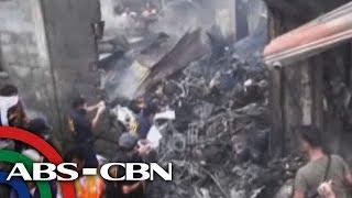Raw of PAF plane crash site in Cotabato City