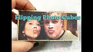 Flipping Photo Cubes