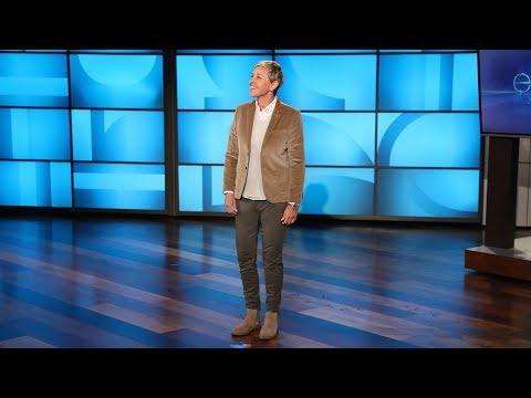 Ellen Looks Back at Her Favorite Pranks (видео)
