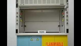 6′ Fisher Hamilton Safeaire Used Laboratory Fume Hood