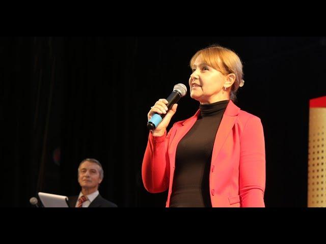 Ольга Бабенко на мероприятии «Золотой фонд Кривбасса»