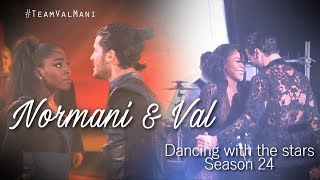 Normani & Val || Dancing With The Stars