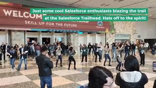 Salesforce enthusiasts welcomes you to the Trailhead! Skill up for the future.