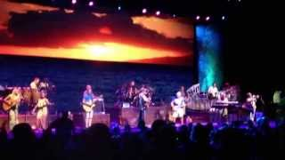 "Jimmy Buffett ""Margaritaville"" (with stage fall verse) Mansfield Comcast Center 6/22/13"