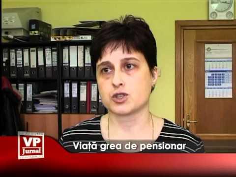 Viaţă grea de pensionar