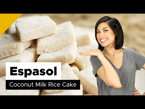 Espasol Recipe (Filipino Dessert)