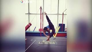 Супергибкие девушки   гимнастика и художественная гимнастика