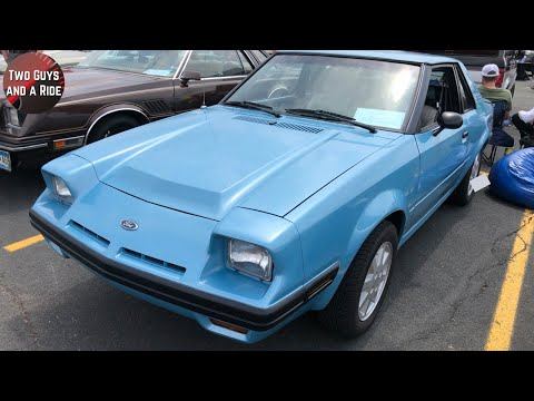 Weird and charming at once - 1982 Ford Escort EXP