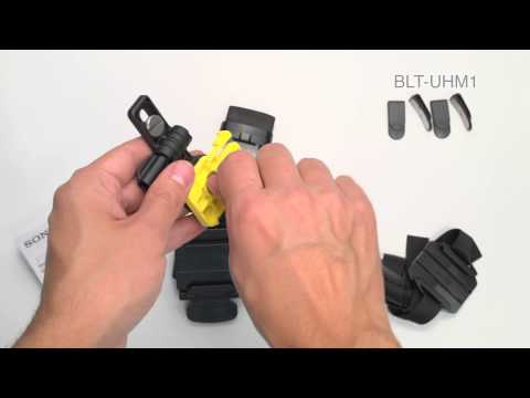 Регулируемое головное крепление Sony BLT-UHM1 видео 1