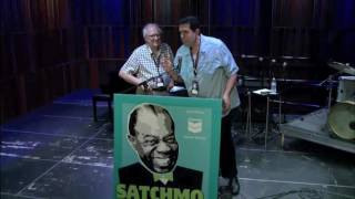 """Satchmo Summerfest 2015 - Dan Morgenstern Listens to Louis Armstrong's """"Beautiful Dreamer"""""""