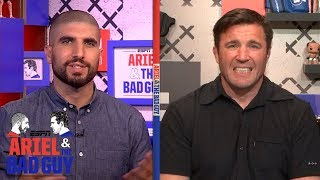 Ariel Helwani has a few issues with Oscar De La Hoya entering MMA | Ariel & The Bad Guy | ESPN