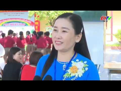 Phòng GD&ĐT thành phố Đông Hà tổ chức Ngày hội giáo dục kĩ năng cho học sinh tiểu học