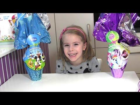 Ostereier von Disney Micky Maus und My Little Pony - Überraschungseier XL