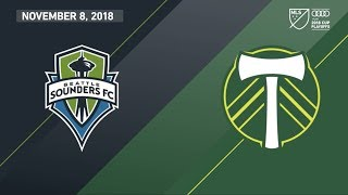 HIGHLIGHTS: Seattle Sounders FC vs. Portland Timbers | November 8, 2018