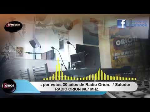 Saludos a la Radio Orion por estos 30 años - 2.