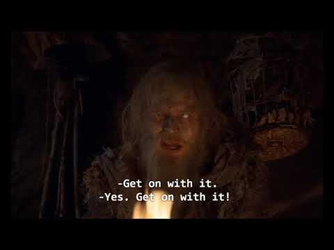 Monty Python and the Holy Grail - fun jokes