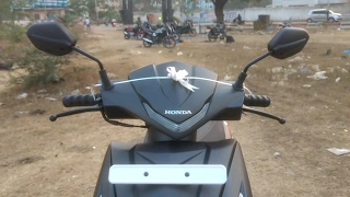 Honda Dio 2017 Delivery walk around first look