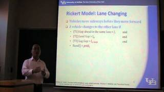 (1/4) Lecture 15: Cellular Automata (Traffic Simulation Class by Shan Huang)