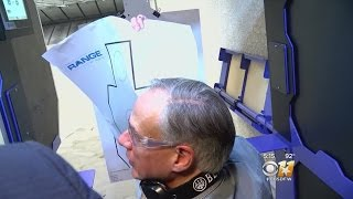 Governor Abbott Cracks Joke About Reporters At Gun Range