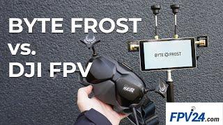 Fatshark Byte Frost vs. DJI FPV - 25mw Verbindungs-Test mit FPV24   FPV German Deutsch