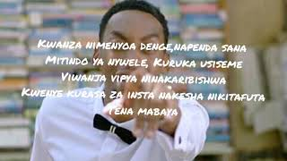 Goodluck Gozbert  Nibadilishe(official Lyric Video)