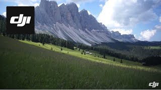 DJI S800 Fly Over The Val di Funes in Italy