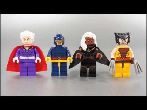 Vidéo LEGO Marvel Super Heroes 76022 : X-men contre les Sentinelles