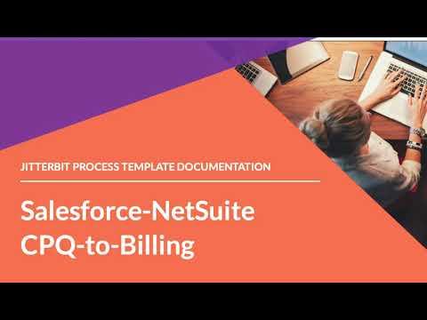 Jitterbit Process Template - Salesforce to NetSuite CPQ to Billing