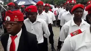 Tsvangirai Farewell at Freedom Square - 1