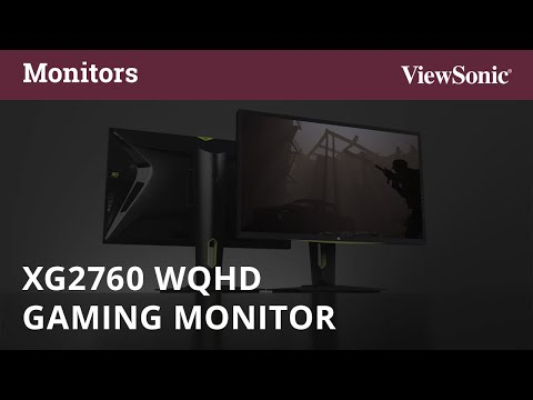 ViewSonic XG2760, 27 Gaming Monitor