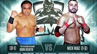 PREMIER 5: Nick Ruiz -vs- John Redito