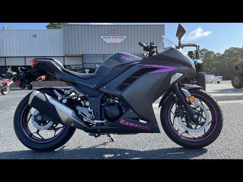 2016 Kawasaki Ninja 300 in Greenville, North Carolina - Video 1