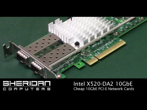 Intel X520-DA2 10GbE Network Cards