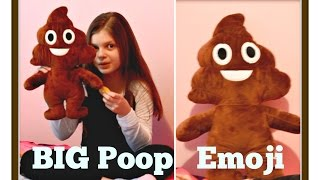 Big Poop Emoji Pal - Full Body Stuffed Plush #Emoji Pooh