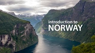 Introduction to Norway (4K) - Fjords and Glaciers
