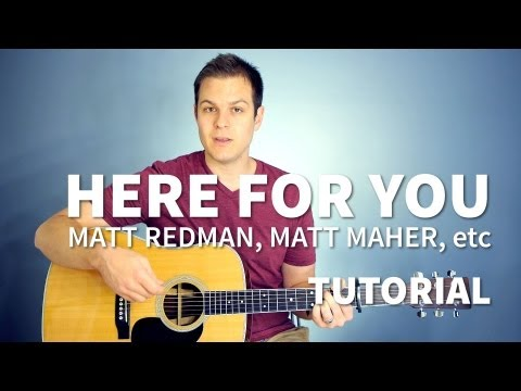 Here For You - Youtube Tutorial Video