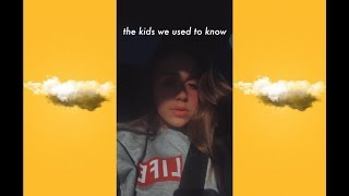 i wrote a song... (kids we used to know) // tate mcrae