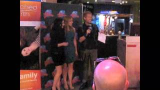 КЭТИ ЛЕКЛЕРК, VANESSA MARANO and KATIE LECLERC of Switched at Birth Go Hollywood!  2011 год