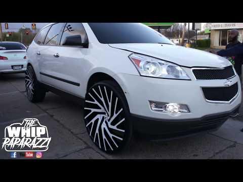 "Chevrolet Traverse on 28"" Azara AZA-505 Wheels"