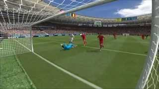preview picture of video 'Belgium v USA World Cup 2014 01/07/2014'