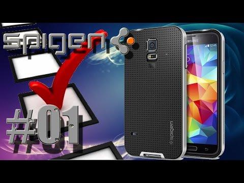 Hardware Check #01 - Spigen Case für Samsung Galaxy S5 Hülle NEO HYBRID