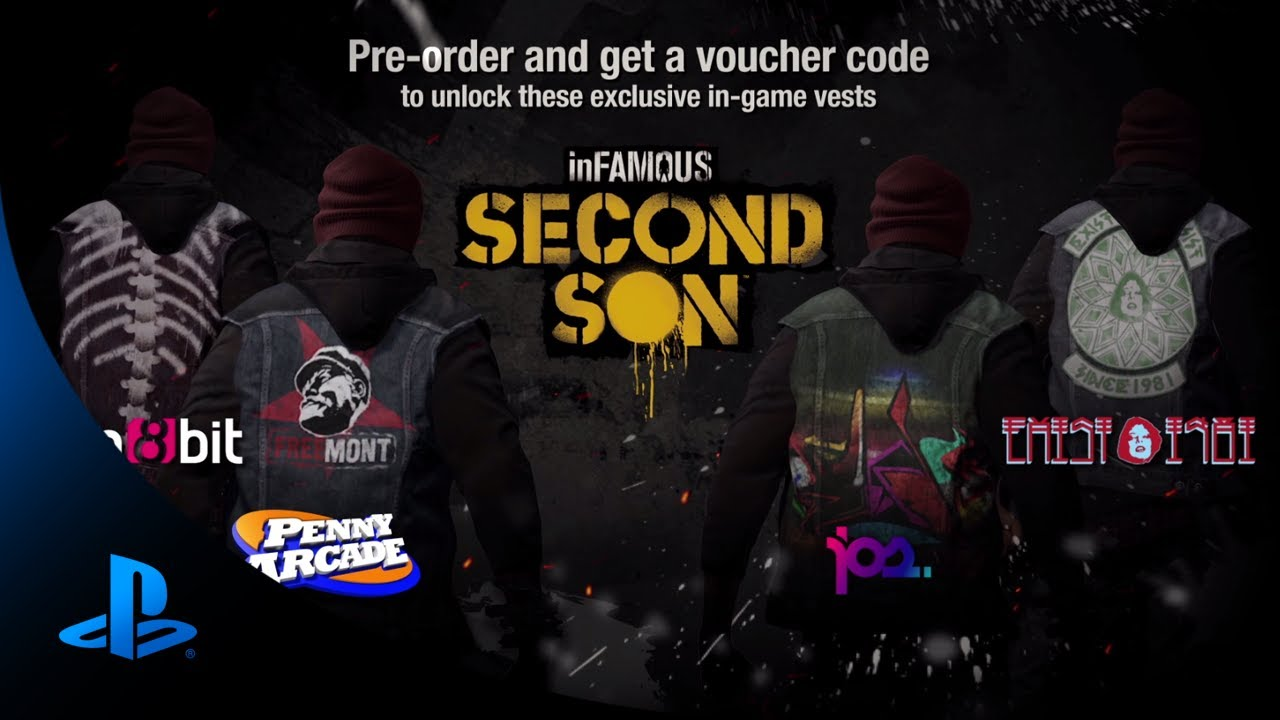 Infamous: Second Son Pre-order Bonuses Revealed
