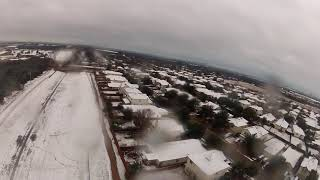 FPV Austin Snow Day 2021 Jan. Raw Video