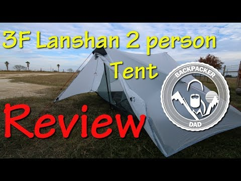 3F UL LanShan 2 person Tent Review