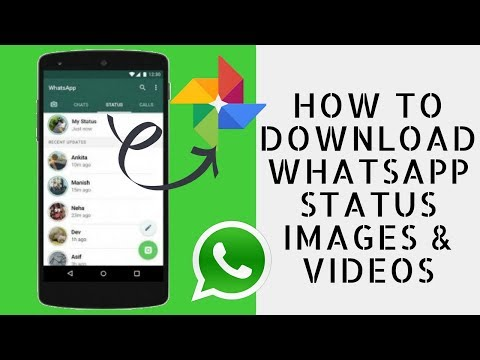 How To Download WhatsApp Status Images & Videos in Gallery (Hindi Audio)