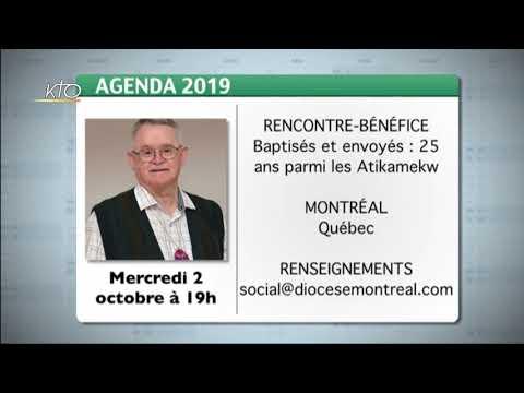 Agenda du 14 octobre 2019