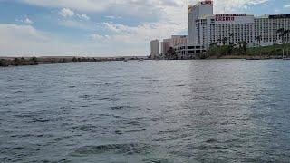 Spring break scenic Colorado River Cruise in Laughlin Nevada USA