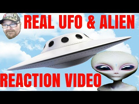 Reaction to real UFO and alien video #RHEC